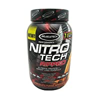 Muscletech Performance Series Nitro-Tech Ripped Supplement, 2 lbs, Chocolate Fudge Brownie
