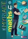 Myriade Mathématiques 4e Cycle 4 : Manuel de l'élève