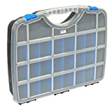 Tayg 024559 Sortimentskasten Basic Box 03/460 x 350 x 81 mm/bis zu 26 Fächer/schwarz-blau