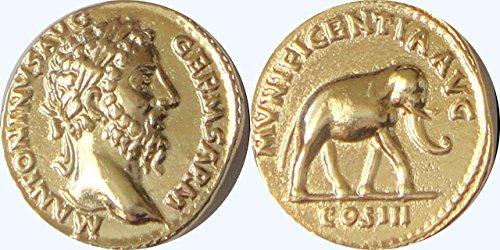 Replik Nickels (römischen Reiches, Marcus Aurelius, Philosoph King, (# 26-g))