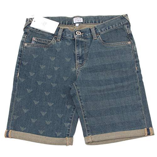 5969O Bermuda Jeans Bimbo Armani Jeans Trousers Shorts Kids Emporio Armani