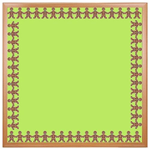 HYGLOSS Klassenzimmer die cut Waves Bordüre Lebkuchen-Mann 3 x 36 Inches -