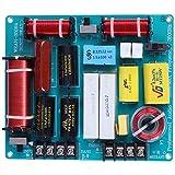 Naliovker 1 Unid 350 W 3 Vías Cruce Tablero de Audio Tweeter + Mediante + Divisor de Frecuencia de Bajos para 4-8 Ohm DIY Ktv Escenario Filtro de Altavoz