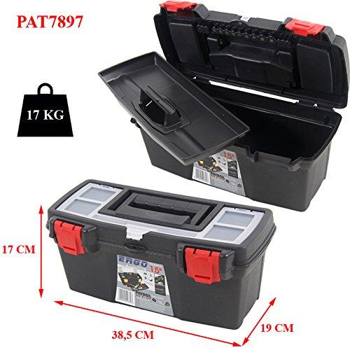 Werkzeugkoffer ERGO PAT7897 - 38,5x19x17cm