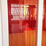 LJ&XJ Europäischen Anti-Moskito Thread Tür Vorhang,Partition Dekoration Gehobenen Weichen Veranda Wohnzimmer Schlafzimmer vorhänge Perlen Tür Vorhang-D 100x200cm(39x79inch)