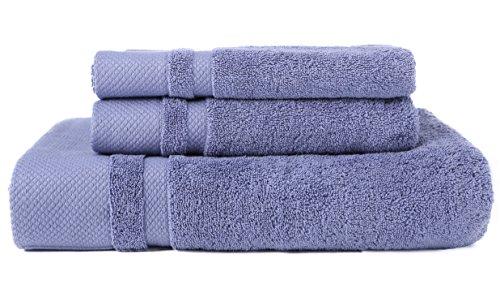 usdisc nicht Platinum Baumwolle Quick Dry Handtuch Mehrzweck Sport Handtuch Gym Handtuch Bad Blatt, baumwolle, blau, Towel Sets (Ägyptische Bad Blatt)