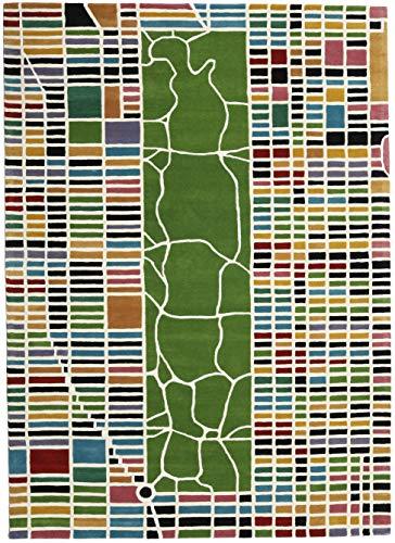CarpetVista New-York/Manhattan Handtufted - Multi Teppich 200x300 Moderner Teppich -