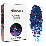 Mermaid Chunky Glitter ✮ COSMETIC GLITTER ✮ Festival Glitter Sparkle Face Body Hair Nails