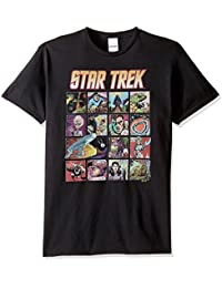 Star Trek Men's Animated Characters T-Shirt