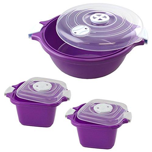lantelme-6058-family-bol-ensemble-3-pieces-couleur-violet-en-plastique-micro-ondes-passe-au-lave-vai