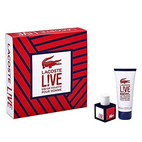 Lacoste Live 40ml Eau De Toilette Gift Set For Men