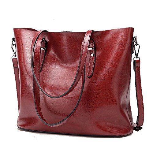 Abshoo, Borsa tote donna Red
