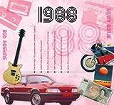 1988 Geburtstag Geschenk - 1988 CD und 1988 Grußkarte