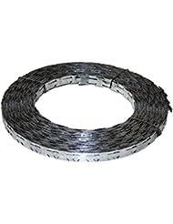 Army Militaire bande Plate bande de fil barbelé OTAN sperr fil de rôle Lame fil barbelé 50m ou 100m