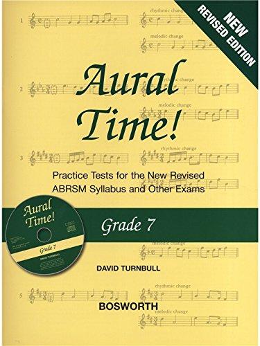 David Turnbull: Aural Time! - Grade 7 (ABRSM Syllabus from 2011) Book & CD