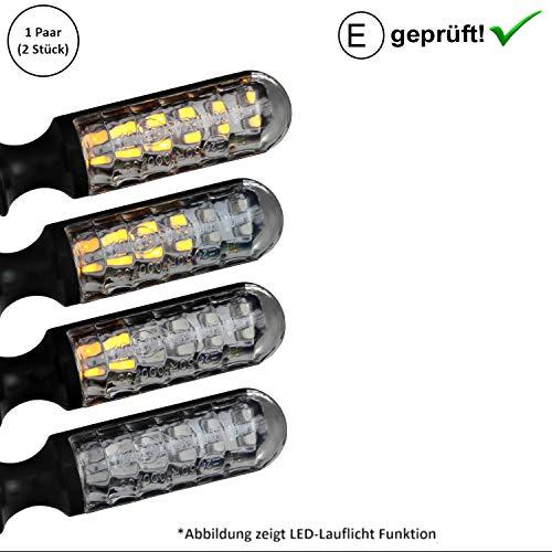 SHIN YO - 2 frecce a LED per Yamaha XT X 660, XT 550, XT 600, R, XT 650, XT 660