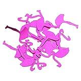 Gazechimp Flamingo Konfetti Tischdeko Streudeko Hochzeit Party Geburtstag Dekor - 6