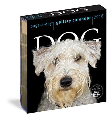 Dog Gallery Calendar 2018