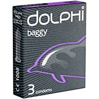 Dolphi «Baggy» 3 Kondome mit mehr Platz im Kopfteil preisvergleich bei billige-tabletten.eu