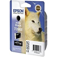 Epson T0968 Ink Cartridge - Matte Black
