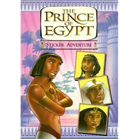 The Prince of Egypt: Sticker Book (Dreamworks)