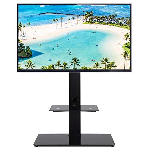 RFIVER Supporto TV da Pavimento con Staffa Porta TV Girevole per TV LCD LED Plasma 32-65 pollici TF2001