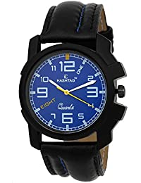 HASHTAG Analogue Quartz Jet Black Watch for Men - Hashtag-htc118acr-mbk-bly