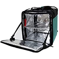 "pk-76bg: exterior resistente al agua mochila de prestación de alimentos, resistentes a las manchas Pizza bolsa de entrega, 16""L x 15"" W x 18""H"