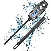 """Cocoda Thermometre Cuisine Digital avec 5.2"""" Sonde Température, Thermometre Cuisson avec Lecture Instantanée, Etanche…"""