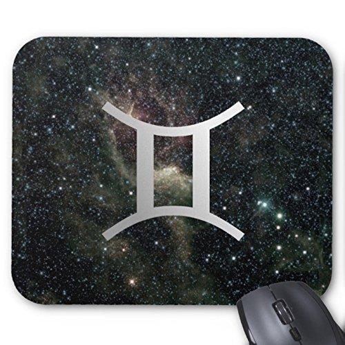 Preisvergleich Produktbild Gemini Zwillinge Sternzeichen Universe Maus Pad Rechteck rutschfestem Gummi Mauspad Mauspad Matte