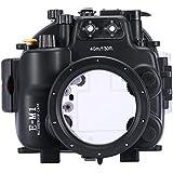 hofoo Tauchen Unterwasser 40/130ft Wasserdicht Fall eine Tasche für Olympus E-M1mit Feuchtigkeit Detektor