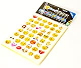 Emoji Set 912 Sticker all Emoji Basic Memes wie bei Whatsapp Instagram &Twitter auf 19 Sheets