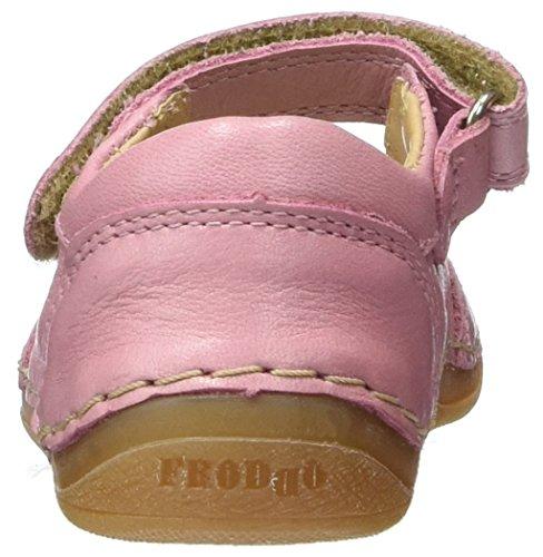 FRODDO Ballerina G2140025-1, Chaussures Marche Bébé Fille Rose (FUXIA)