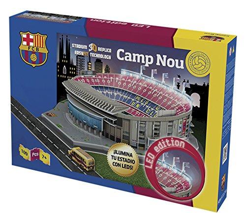 Nanostad Camp Nou, Puzzle 3d, giochi preziosi nnd06000