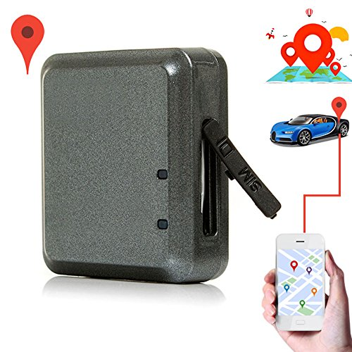 Pacinge GPS Tracker, pet Trackers, Kid Localizer Trackers, Car Vehicle GPS Tracking,Fashion Mini GPS Car Tracker Waterproof Home Anti-Theft Alarm Pet Elderly Kids Locator Security Positioning System