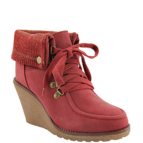 Unbekannt, Stivali donna Rosso (rosso)