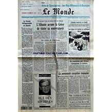 MONDE (LE) [No 15306] du 14/04/1994 - LA RUSSIE INDISPENSABLE EN BOSNIE - L'ALBANIE ACCUSE LA GRECE DE VIOLER SA SOUVERAINETE - LES CROISES DE L'HELLENISME PAR YVES HELLER - ATTENTAT MEURTRIER EN ISRAEL - LES SIGNES DE REPRISE SE CONFIRMENT - DES PROPOSITIONS POUR REFORMER L'AMENAGEMENT DU TERRITOIRE - RUE DES ARCHIVES PAR MICHEL DEL CASTILLO - LA PERSISTANTE EXCEPTION ROUMAINE PAR YVES-MICHEL RIOLS ET CHRISTOPHE CHATELOT - EUROPE - UN ENTRETIEN AVEC SIR LEON BRITTAN - UN POINT DE VUE D'ALA