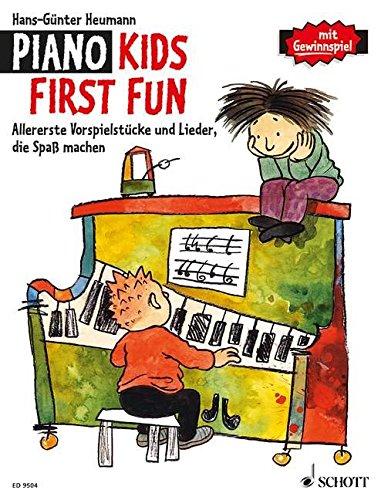 Piano Kids First Fun: Allererste Vorspielstücke und Lieder, die Spaß machen. Klavier.