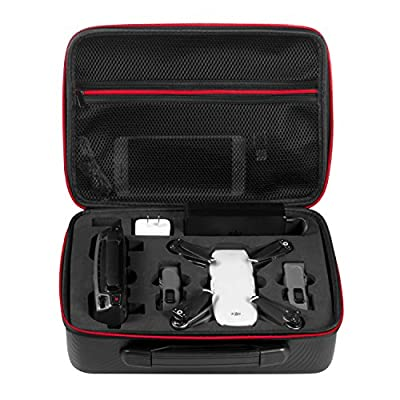 Deyard Waterproof Case Portable Hand Bag Carrying Suitcase for DJI Spark Drone