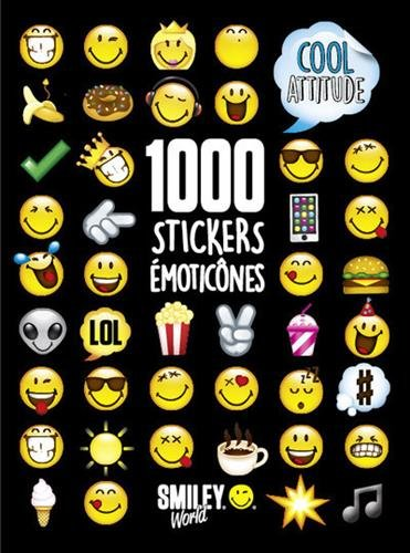 1000 Stickers Emoticnes - Cool Attitude
