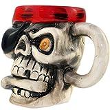 BonZeal Pirate, Skull Shaped Mug 300ml, ...