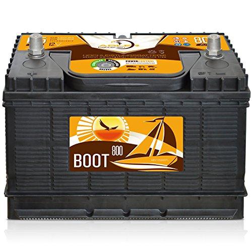 Preisvergleich Produktbild Adler EFB Sunrise 12 V/105 Ah Boot Caravan Versorgungs Verbraucher Batterie