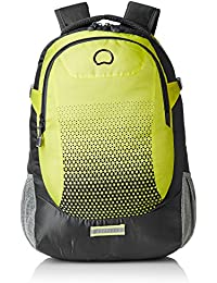 Delsey Capetown 25 Ltrs Yellow Grey Backpak (00300360002)