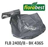 Sac collecteur pour aspirateur / souffleur Florabest avec support FLB 2400/8 BK 4365 Lidl Florabest.