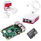 The Pi Hut Raspberry Pi 4 Starter Kit (2GB RAM, Red & White)