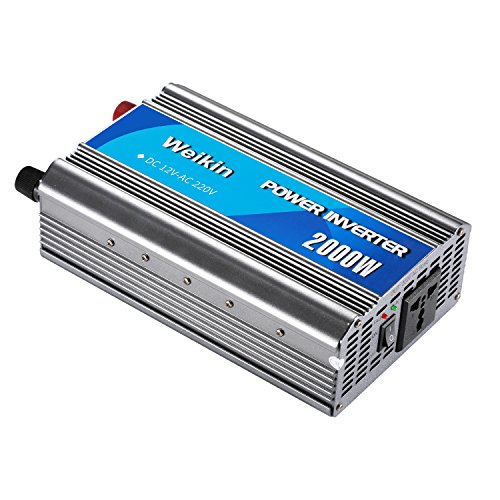 Power Inverter 2000W DC 12 V a V AC 220 V Invertitore...