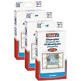 Tesa Lot 55672–00020–01® Insect Stop Moustiquaire pour fenêtre Standard 1.3M x 1,5M, Blanc (3)