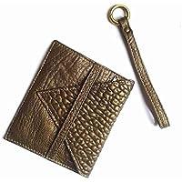 Portafoglio in pelle italiana Ganza on Amazon color Bronzo