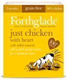 Forthglade Natural Dog Food Chicken and Heart Menu 395 g (Pack of 18)