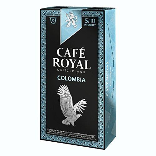 Café Royal Single Origin Colombia, caffè, caffè tostato, Capsule, Nespresso Compatibile, 50Capsule 1
